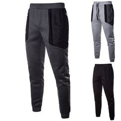 Peibo - Color Block  Sweatpants