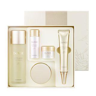 Charm Zone - DeAge White Aging Triple Set: First Essence 120ml + 30ml + Cream 50ml + 8ml + Eye Cream 30ml