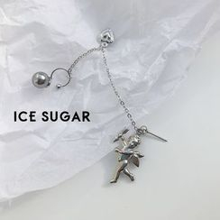 ICE SUGAR - 天使耳環