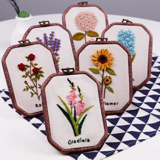Anffleur - Floral Embroidery DIY Kit Set
