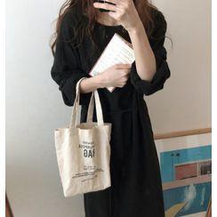 Vinales - 長袖直身連衣中裙