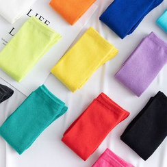 Cottonet - 纯色及膝袜
