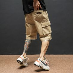 UIXX - Mock Two-Piece Cargo Shorts
