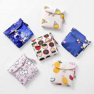 Fun House - Printed Sanitary Pouch