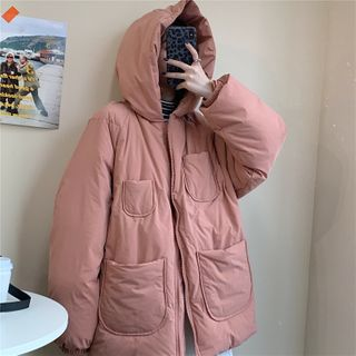 Maisee - Hooded Zip Padded Jacket