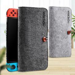 ZYUN - Felt Nintendo Carrying Pouch
