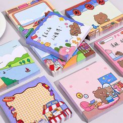 Ballyway - Cartoon Printed Sticky Note (Various Designs)