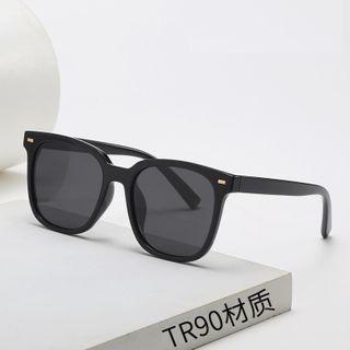 Aisyi(アイシー) - Retro Square Sunglasses