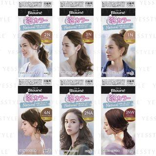 Kao - Blaune Natural Bubble Hair Color - 6 Types
