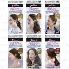 花王 - Blaune Natural Bubble Hair Color - 7 Types