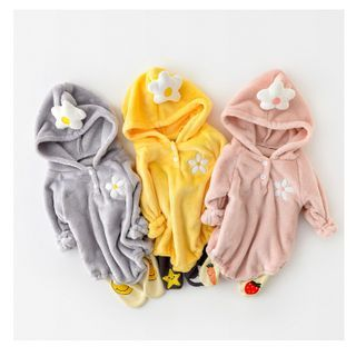 Cen2ury - Baby Hooded Fleece Bodysuit