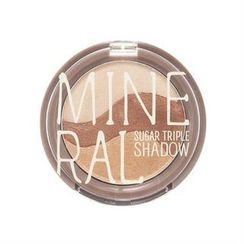 SKINFOOD - Mineral Sugar Triple Shadow (7 Colors) 3.8g