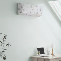 Good Living - Printed Air Conditioner Dust Cover