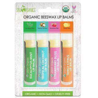 Sky Organics - Organic Beeswax Lip Balms