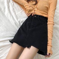 Sisyphi - A-Line Denim Skirt