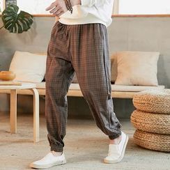 Chopit(チョップイット) - Plaid Harem Pants