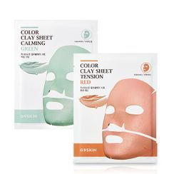 G9SKIN - Color Clay Sheet - 2 Types