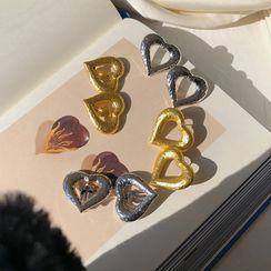 EBIZA - Heart Alloy Earring