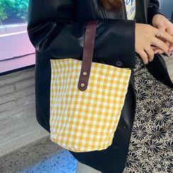 Shinshine - Gingham Tote Bag
