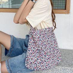 Milha - Floral Print Tote Bag