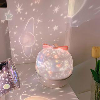 Yuja Girl - USB LED Projection Night Lamp