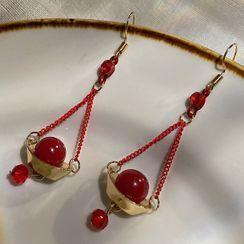 Catalunya - Bead Drop Earring