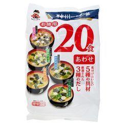 ZEZZUP - Miyasaka 德用20包装即冲综合面豉汤