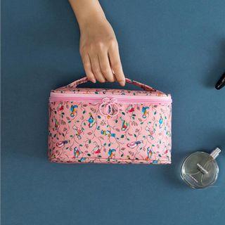 LIONA - 印花旅行化妝手提袋