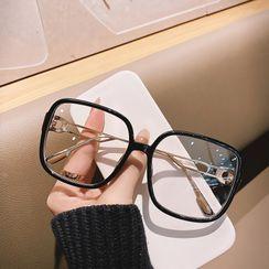 MOL Girl - Oversize Square Frame Glasses