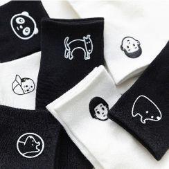 QUICKSOOX - 橡胶卡通袜子