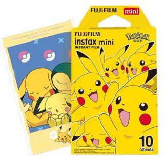 Fujifilm - Fujifilm Mini 即影即有相紙 (New Pokemon) (10張)