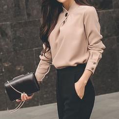 Yilda - 雪纺衬衫/九分裤