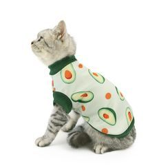 Fabcast - Avocado Print Pet Top