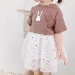 Cerula - 小童短袖小兔印花T裇