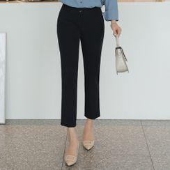 CLICK - Straight-Cut Dress Pants