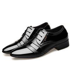 Taragan - 拼接低跟礼服牛津鞋