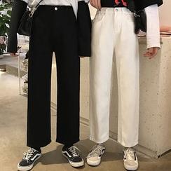 JIUHOJI - Wide Leg Pants