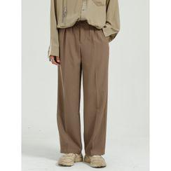 FAERIS - Wide-Leg Dress Pants
