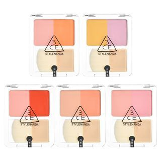 3CE - Dual Blend Blusher - 5 Colors