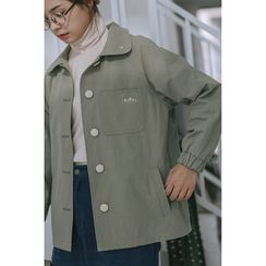 Echo Forest - Chest Pocket Buttoned Jacket