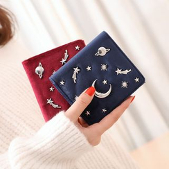 NICOLEBONNIE - Constellation Studded Wallet
