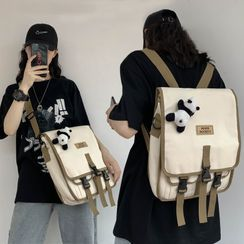 MUSIS - Convertible Canvas Backpack