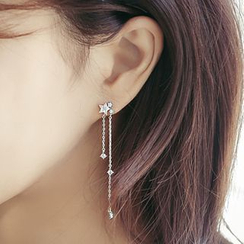 Kulala - Chain Drop Earrings Without Back
