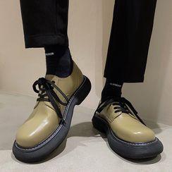 VEAZ - Lace-Up Platform Oxford Shoes