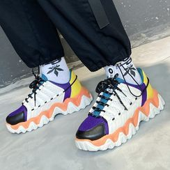 Tanzanite - Platform Chunky Sneakers
