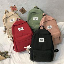 Gokk - Lettering Zip Backpack
