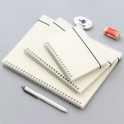 Fey Fey - Transparent Cover A5 / A6 / B5 Notebook