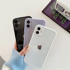 Surono - Transparent Phone Case - iPhone 12 Pro Max / 12 Pro / 12 / 12 mini / 11 Pro Max / 11 Pro / 11 / SE / XS Max / XS / XR / X / SE 2 / 8 / 8 Plus / 7 / 7 Plus