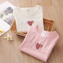 Seashells Kids - Kids Heart Long-Sleeve T-Shirt