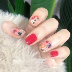Padoma - Flower Nail Art Stickers